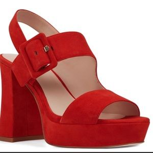 90s inspired gogo red heels! Size 9m! Never worn!